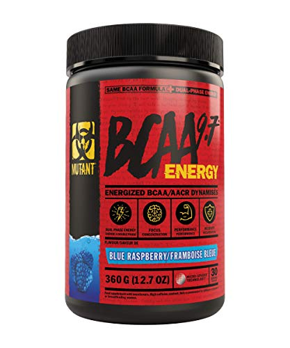 Mutant BCAA 9.7 Energy, Blue Raspberry, 360g